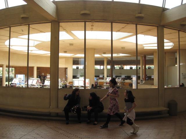 ヴィルヒリオ・パルコ公立図書館(内観))